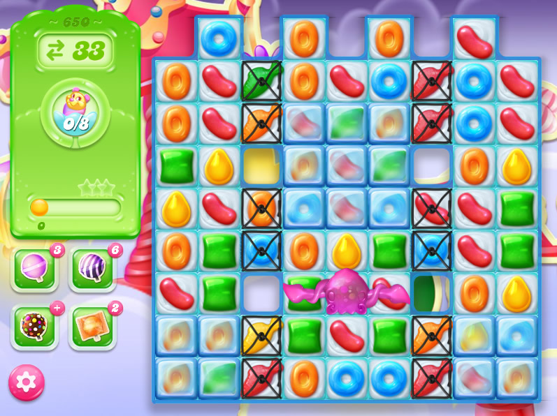Candy Crush Jelly Saga level 650