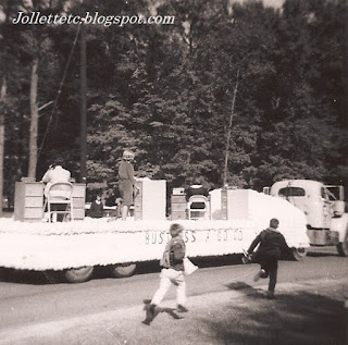 Cradock High School FBLA Float 1966