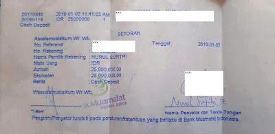 tanda bukti setoran tabungan haji pengalaman saya dan suami buka tabungan haji bank muamalat indonesia syariah nurul sufitri social media mom blogger writer umroh