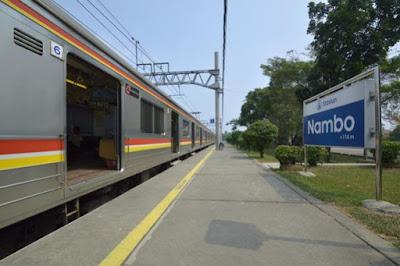 Jadwal KRL Stasiun Nambo