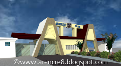 Unijos Permanent Site Gate 3D render by @pitagenious