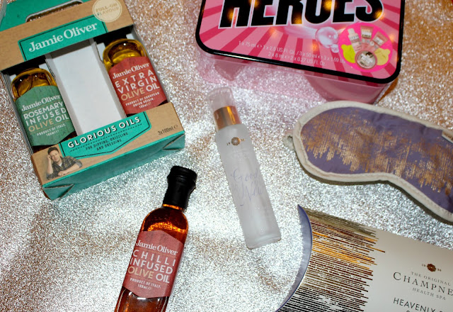 stocking fillers, stocking filler gift ideas, gift ideas, christmas, jamie oliver, champneys, soap and glory