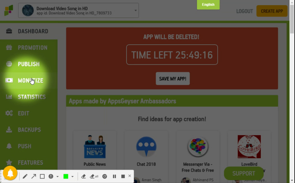 How to create an app on android without coding - Idrees Shareef