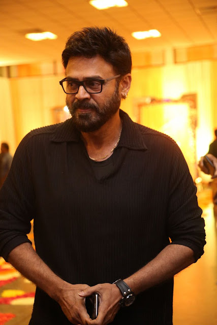 Venkatesh at Shyam Prasad Reddy Daughter Maithri wedding