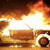 Στις φλόγες τυλίχτηκε ΙΧ με γερμανικές πινακίδες στην Εγνατία Οδό - Κάηκε ολοσχερώς