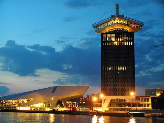 coolaste utsikt i Amsterdam
