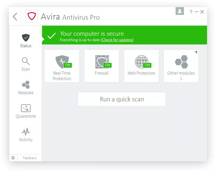 avira antivirus pro activation code 2018