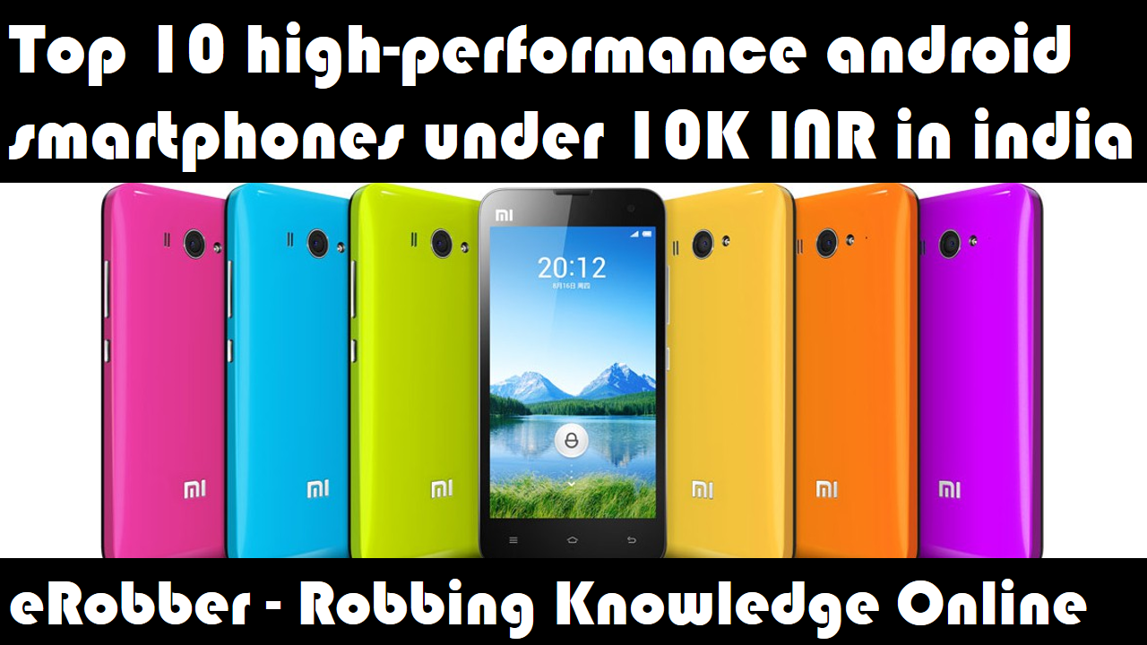 best smartphone under 10000 in india