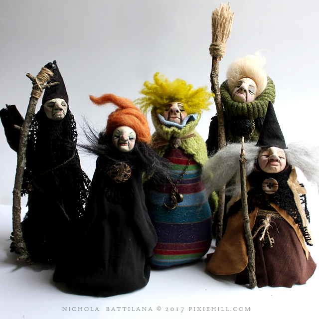 Witch Dolls - Nichola Battilana