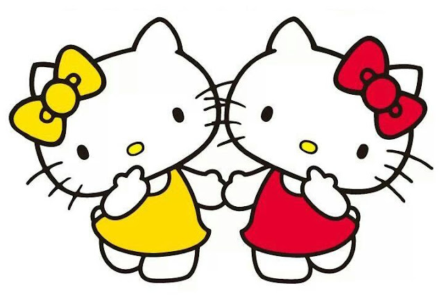 Mimmy y Hello Kitty su hermana gemela