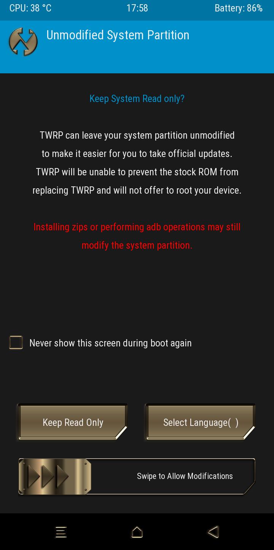 Cara Pasang TWRP di HP Xiaomi Redmi 6A
