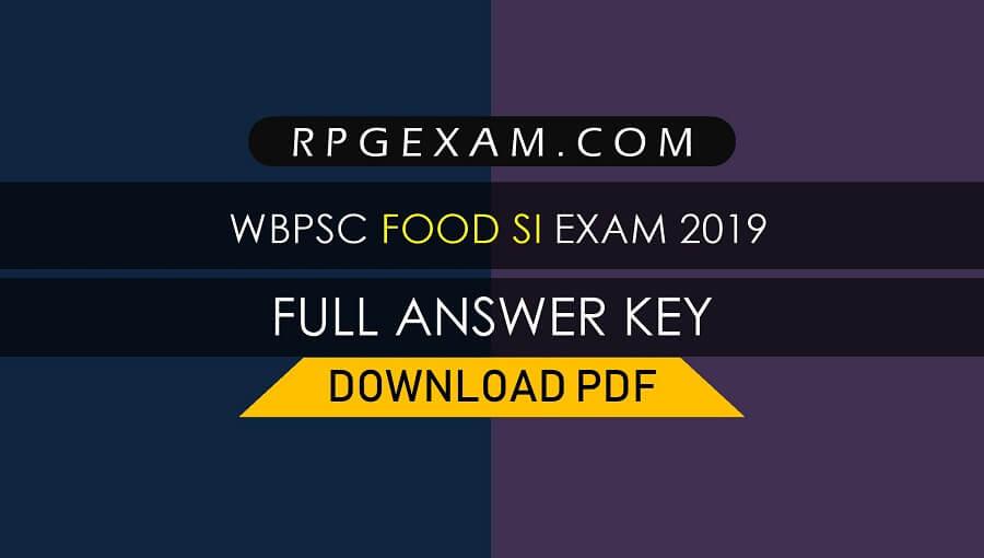 RRB Kolkata Group D Answer Key 2018-19