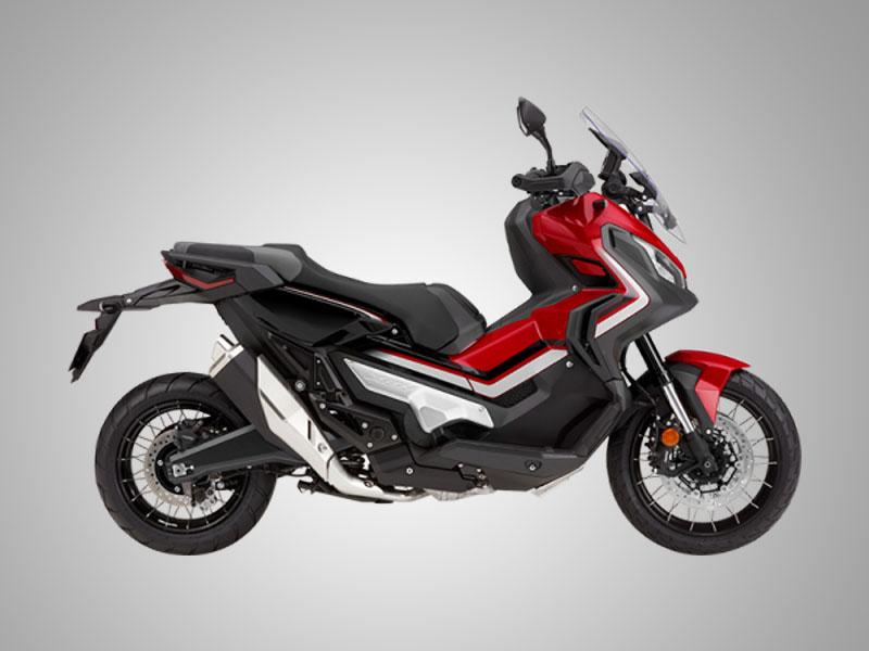 Honda X-ADV warna Grand Prix Red