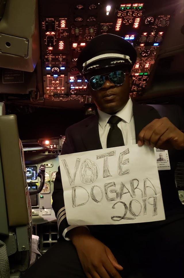 A ZAAR SAYAWA PILOT FROM MIAMI ENDORSES SPEAKER DOGARA AND ATIKU ABUBAKAR AHEAD OF 2019