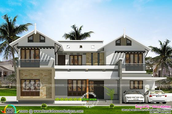 2475 square feet 4 bedroom house ₹40 lakhs