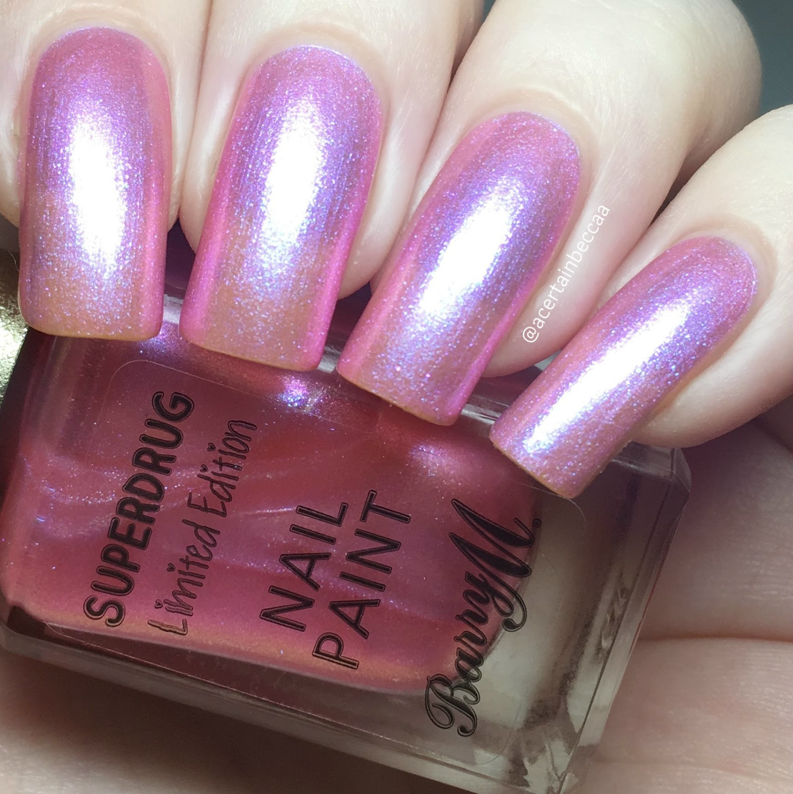 A Certain Becca Nails: Barry M Superdrug Limited Editions \'You Go ...