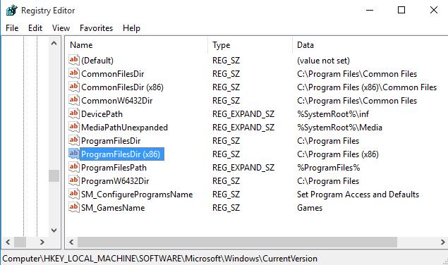 Registry-editor-change-default-directory-2