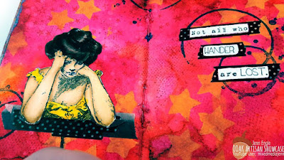 OOAK Artisans Mixed Media Art Journal Jenn Engle
