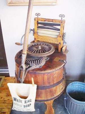Mesin cuci antik