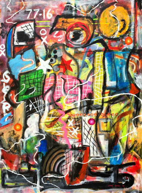 Oana-Singa-Disuse-Salute-Beautify-2018-acrylic-on-canvas-40x30inches