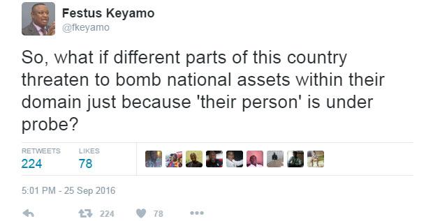 Festus Keyamo blasts Niger Delta for defending Patience Jonathan