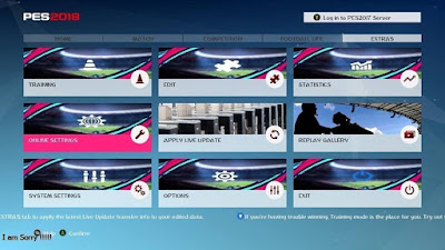 PES 2017 Theme FIFA 19 Graphic Menu
