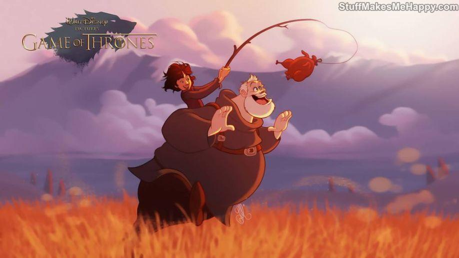 4. Brandon Stark and Hodor