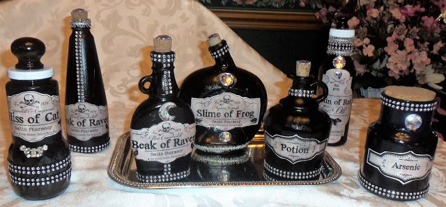 Halloween Potion Bottles, Part 2