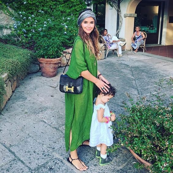 Miroslav Duma : green caftan and Hermès Constance Bag  {Cool Chic Style Fashion}