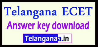 Telangana ECET Answer key 2017 download