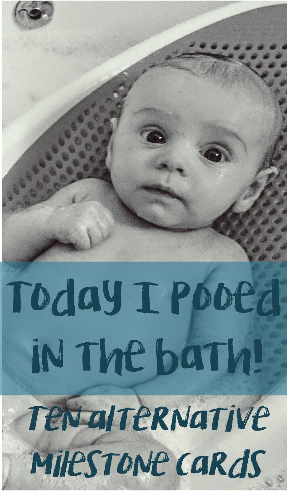 10 alternative milestone cards: mark your baby\'s milestones! Free ...