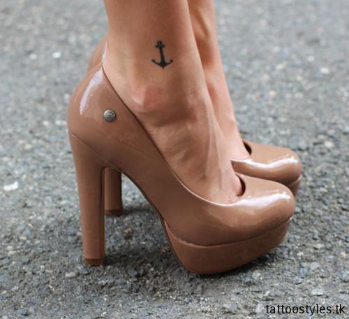 Çapa Dövme Modelleri