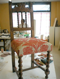 C mo tapizar una silla paso a paso ii trabajo artesanal - Como tapizar una silla paso a paso ...