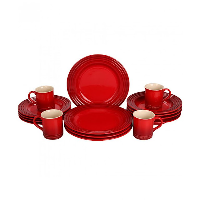 Red Dinnerware 3