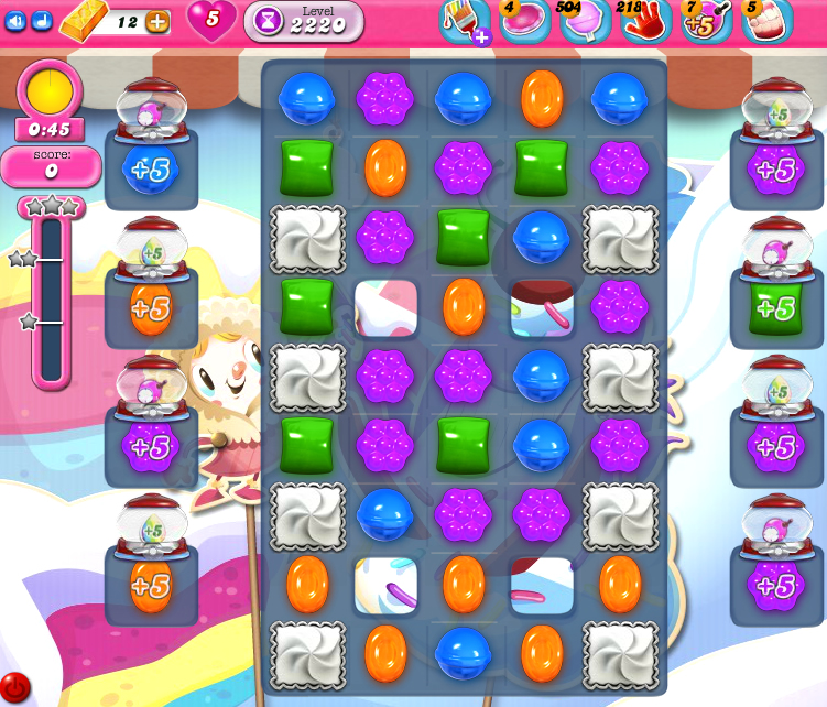 Candy Crush Saga level 2220