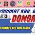 Contoh Spanduk dan Baliho Donor Darah