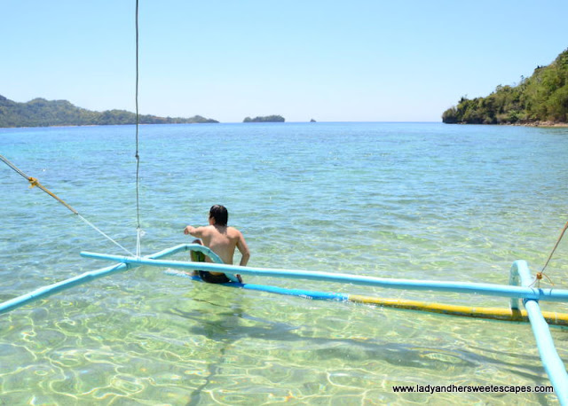 clear waters of Sipalay
