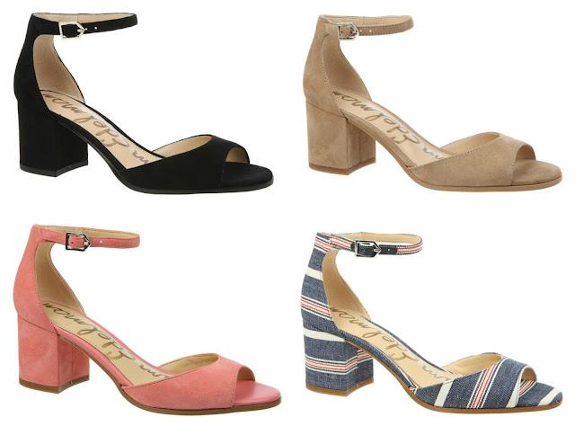 Sam Edelman Susie Suede Block Heel Sandals for only $61 (reg $120) + free shipping!