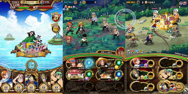 download Game One Piece Treasure Cruise APK MOD GOD Mega