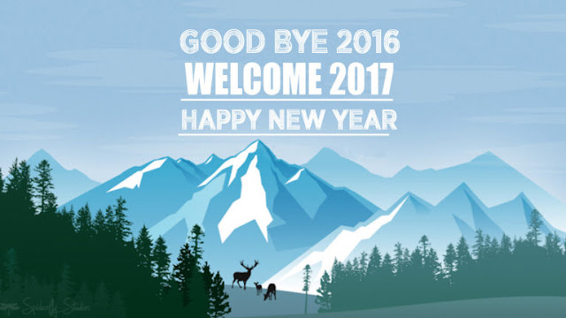 Good Bye 2016 Welcome Happy New Year 2017 Pictures