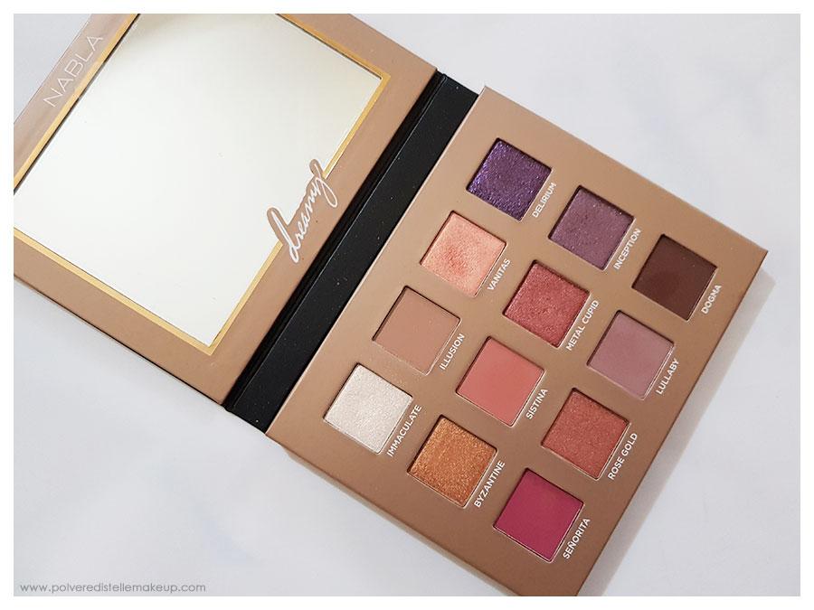 Nabla Cosmetics Dreamy Eyeshadow Palette