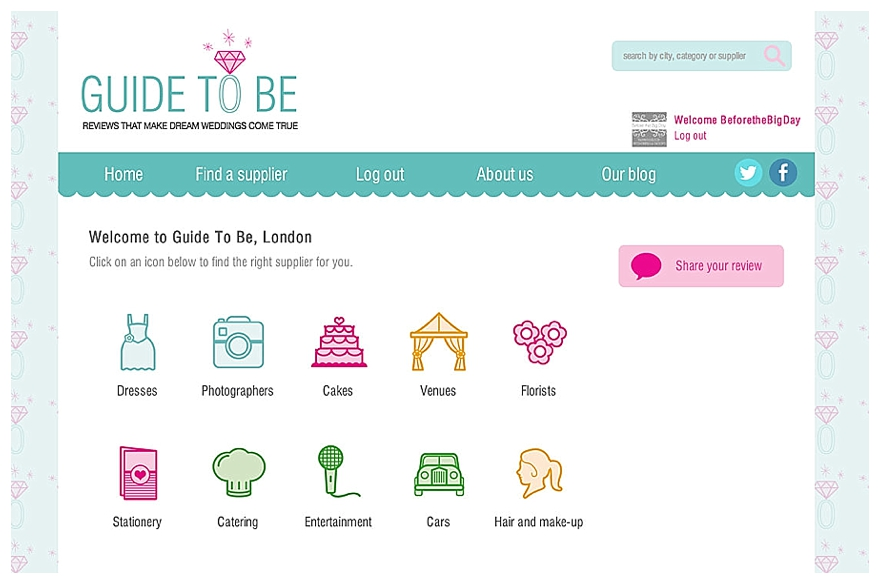 Introducing Guide To Be - A Brand New Wedding Review Site