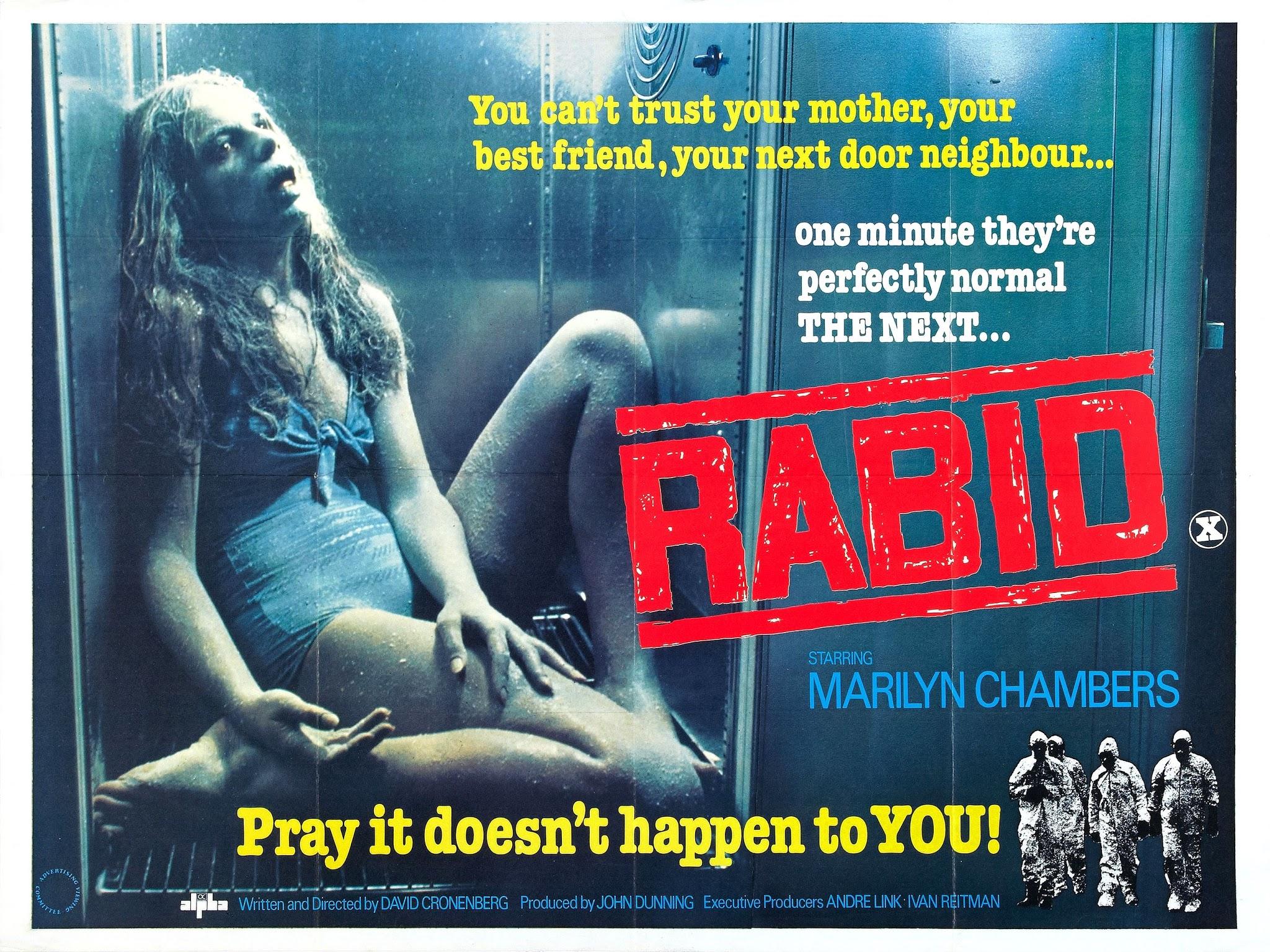 Enraivecida na Fúria do Sexo de David Cronenberg terá remake e série de TV