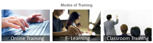 modes of training