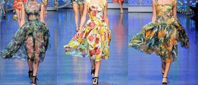 vestidos largos de dolce y gabbana