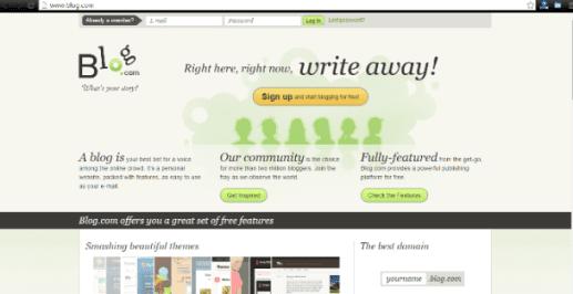 Free Websites For Blogger