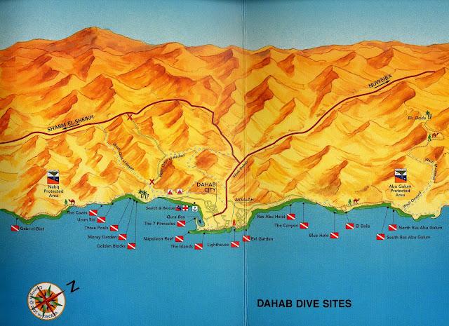 Spots de plongée sous-marine à Dahab