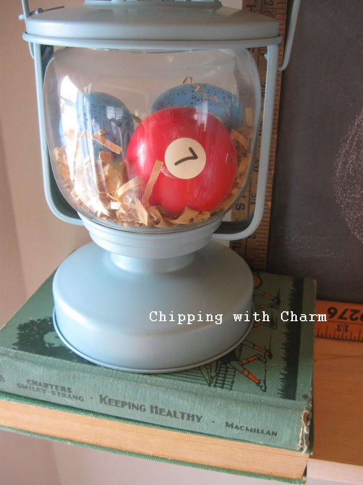Chipping with Charm:  Whimsical lantern nest...http://www.chippingwithcharm.blogspot.com/