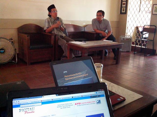 Diskusi JPPR: Potensi Penggunaan IT dan Media Sosial untuk Pemantauan Pemilu 2014