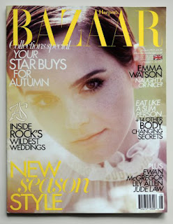 Emma Watson Harper's Baazar August 2011 Sierpień UK Wielka Brytania